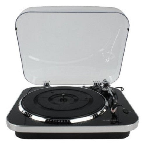 Konig 3 Speed USB Turntable - Black & Silver