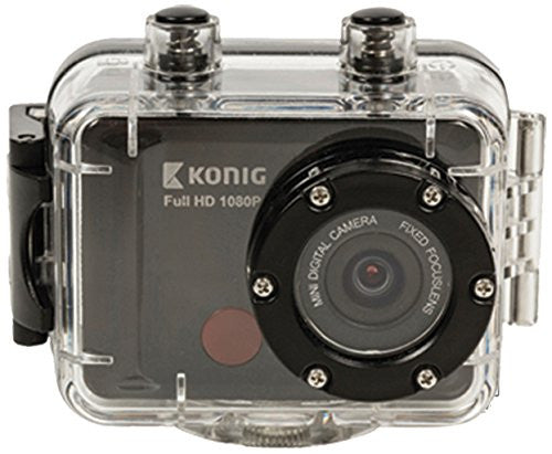 Konig Full HD Waterproof Action Camera 1080p