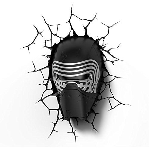 Star Wars: The Force Awakens - Kylo Ren 3D Deco Wall Mood Light
