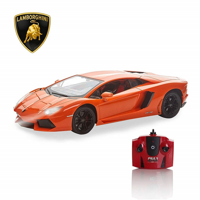 Lamborghini Aventador Orange 1:14 Remote Control Car