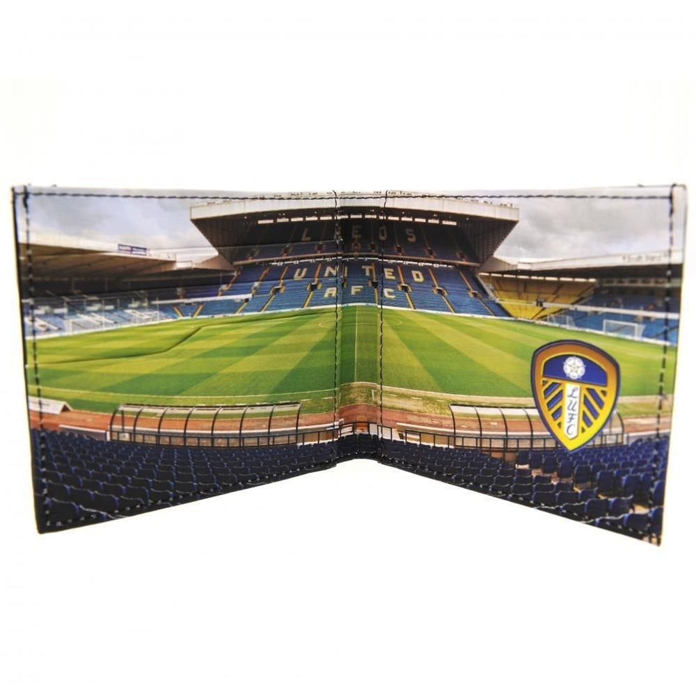 Leeds United Stadium Leather Wallet