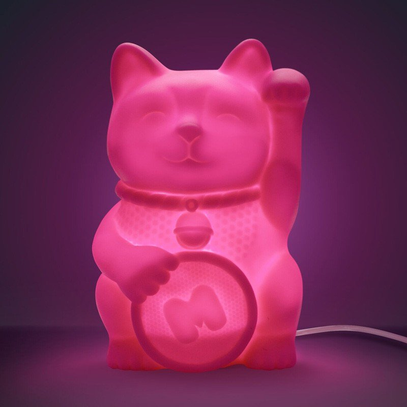 Lucky Cat LED Desk Light