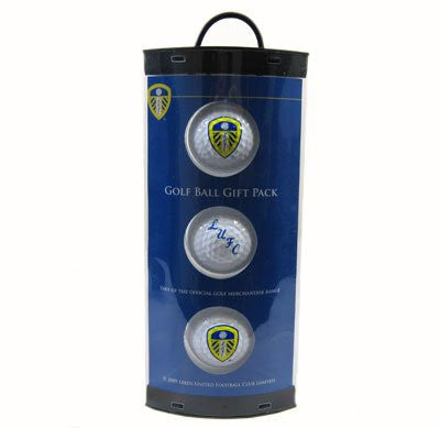Leeds United Golf Ball Gift Pack