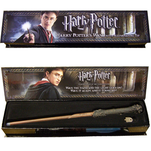 Harry Potter Illuminating Wand ~ Noble Collection