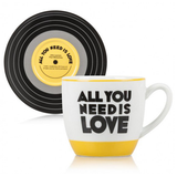 Lennon & McCartney Cup & Saucer Set - All you Need Is Love