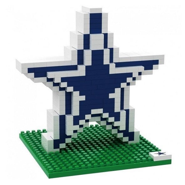 American Football BRXLZ Team Logo 3D Puzzle - Dallas Cowboys