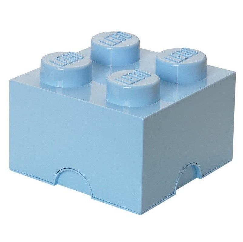 Lego Plastic Storage Brick 4 (Light Blue)