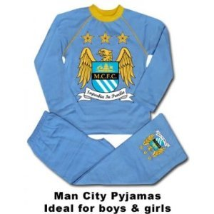 Manchester City FC Sky Blue Boy's Pyjamas