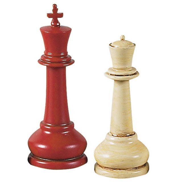 Authentic Models Master Staunton Chess Set (Playing Pieces Only)