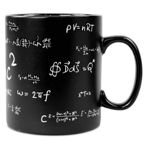 Side view of Novelty Mathematics Maths Mug