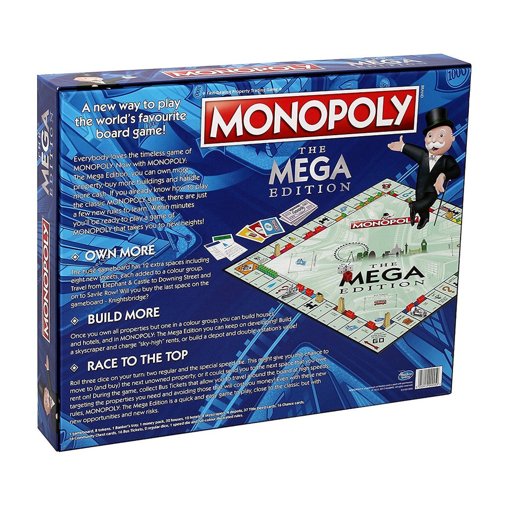 Monopoly The Mega Edition Board Game Box