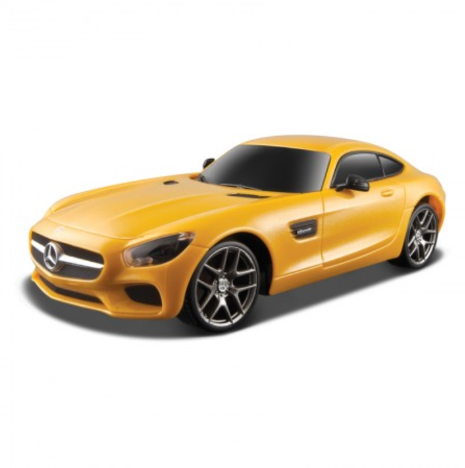 Street Series Mercedes-AMG GT YeStreet Series Mercedes-AMG GT Yellow 1:24 Remote Control Car by Maisto