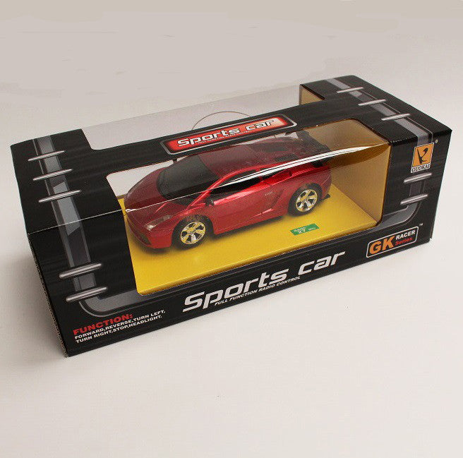 Guokai Radio Control Sports Car - Metallic Red