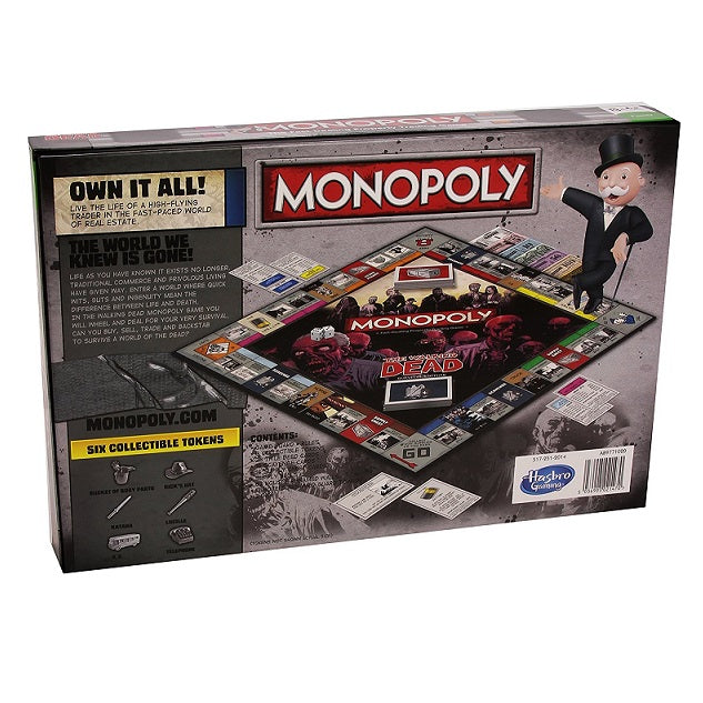 The Walking Dead Survival Edition Monopoly Board Game