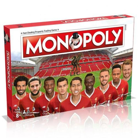 Liverpool FC 2017/18 Monopoly Board Game