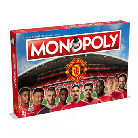 Manchester United 2017/18 Monopoly Board Game