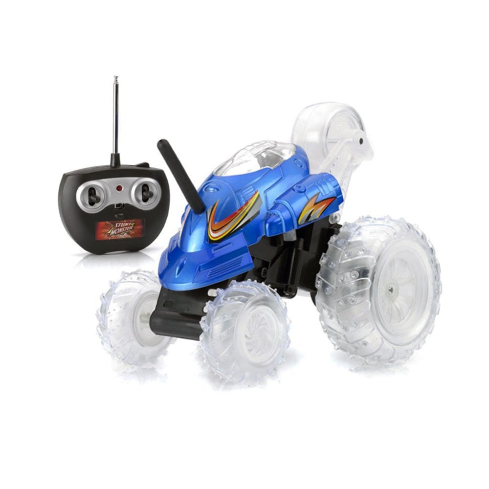Radio Controlled Stunt Buggy Car - Blue