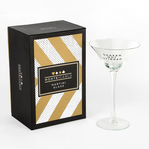 Monte Carlo Martini Glass