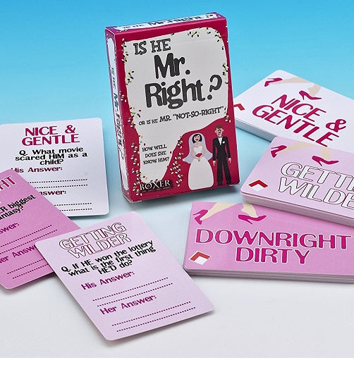 Is He Mr Right? Card Game
