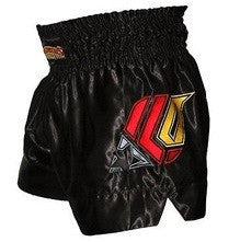 Fighters Only Muay Thai Fight Shorts - Black - XL