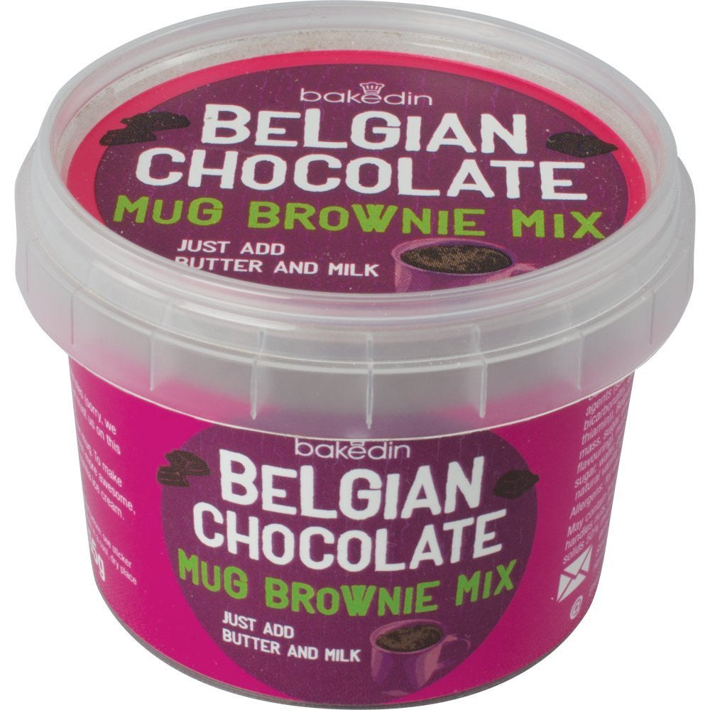 Baked In Belgian Chocolate Mug Brownie Mix - Single Pack