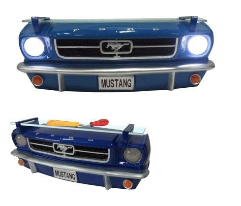 Ford 1964 1/2 Mustang 3D Front Wall Shelf with Lights