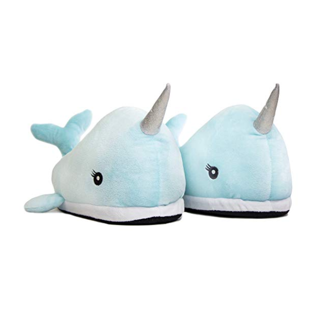 8d4b86874 Narwhal LED Light Up Slippers (Childs) by AddCore – Liberty Trading