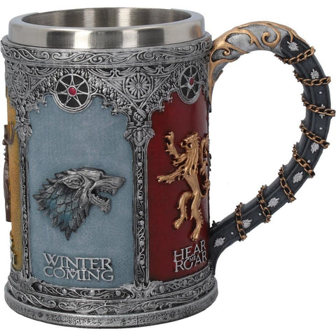 Game Of Thrones The Seven Kingdoms Goblet 17.5cm