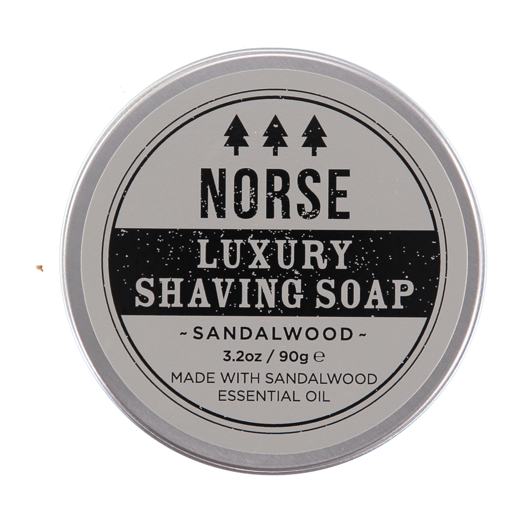 Norse Luxury Sandalwood Shaving Soap 3.2oz/99g