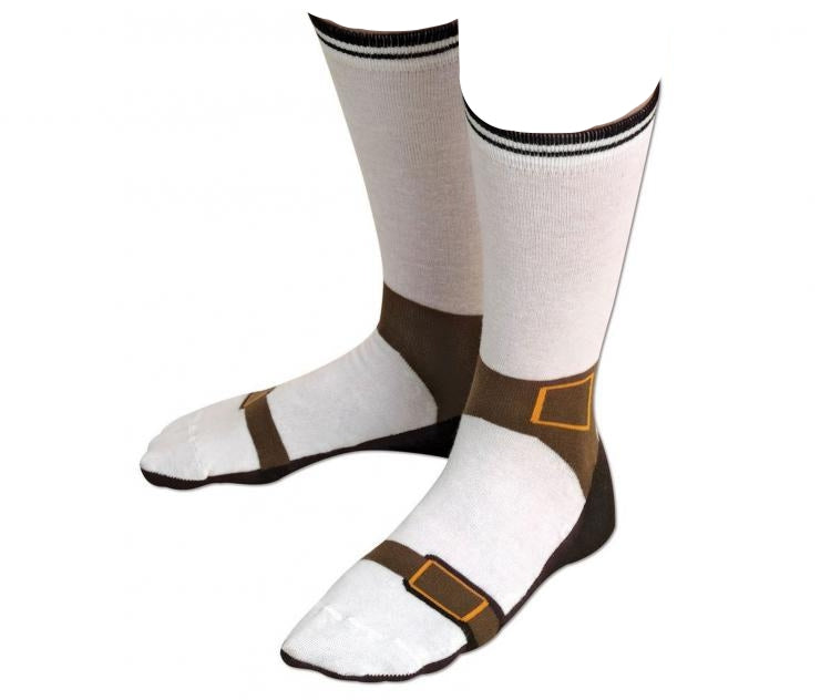 Sandal with socks joke for men