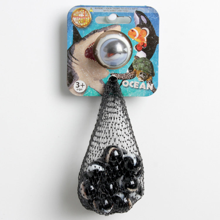 House of Marbles Ocean Orca Whale Net Bag of Marbles