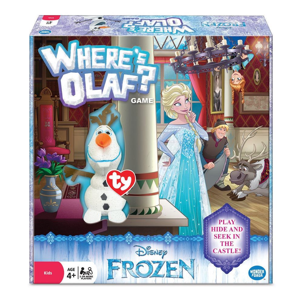 Frozen Where's Olaf Game