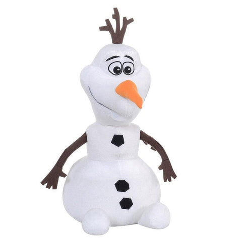 Official Olaf from Frozen ~ 28cm plush toy ~ Frozens loveable snowman