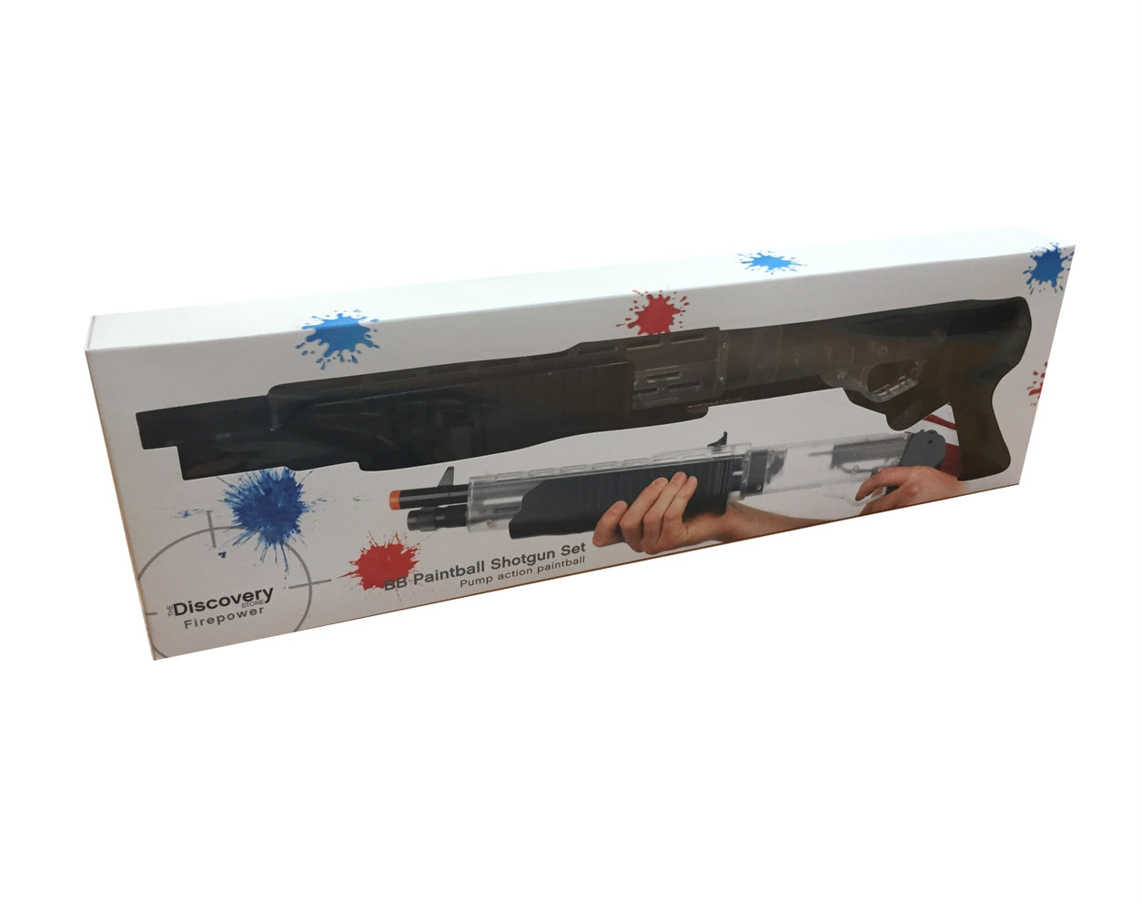 Paintball Spring-Action Blaster Set Toy BB Gun 14+