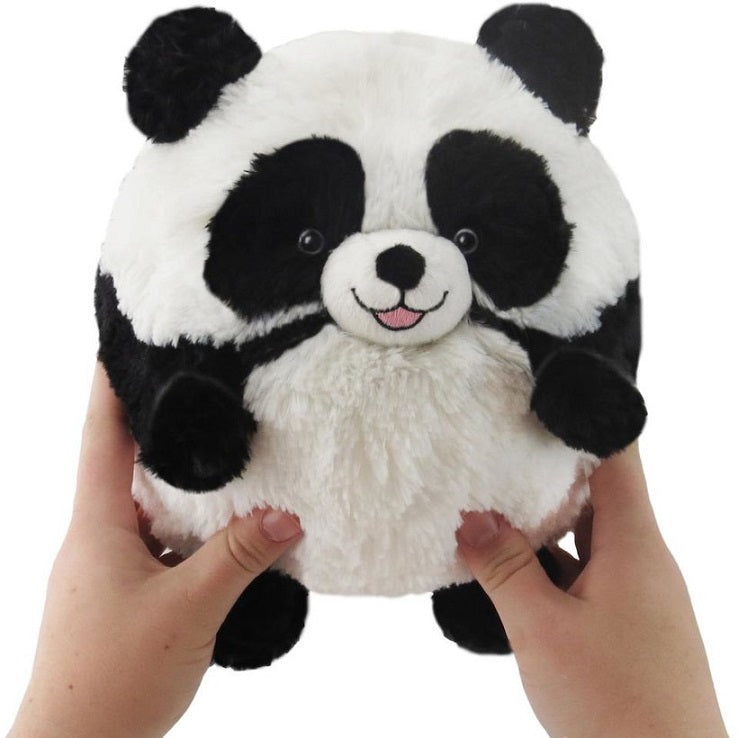 "Mini Squishable 7"" Giant Panda Soft Plush Toy in Hands"