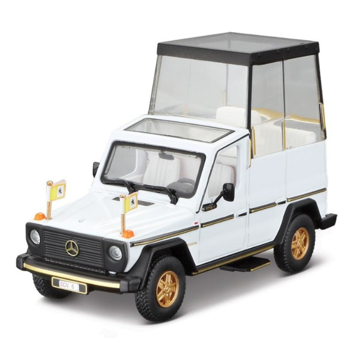 1:43 Mercedes Benz 230 GE Papamobile Pope Mobile