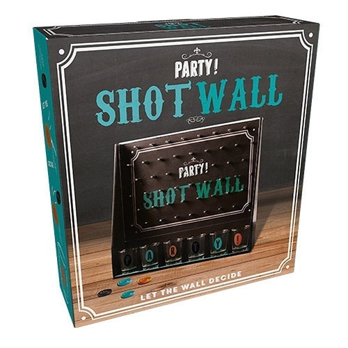 Party! Shot Wall Drinking Game Packaging