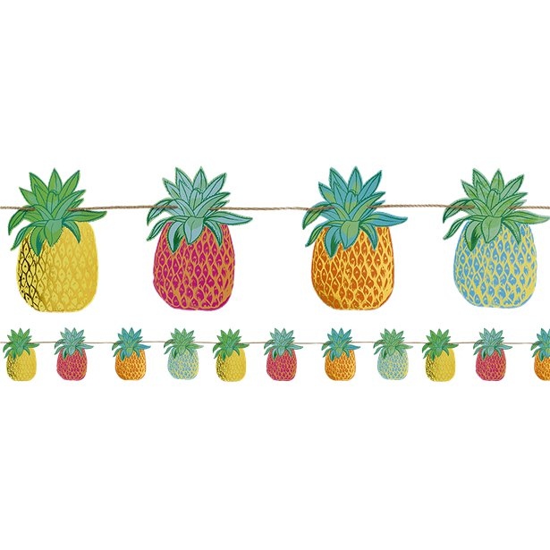 Pineapple Bunting by Talking Tables