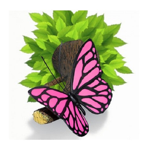 Pink Butterfly 3D Deco Wall Light
