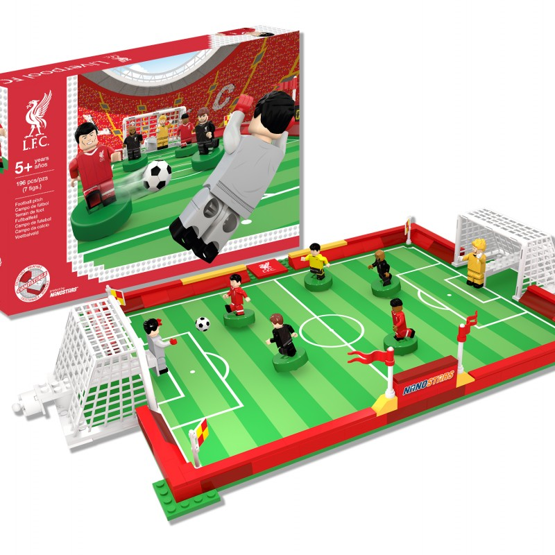 Nanostars Liverpool FC Pitch Construction Set
