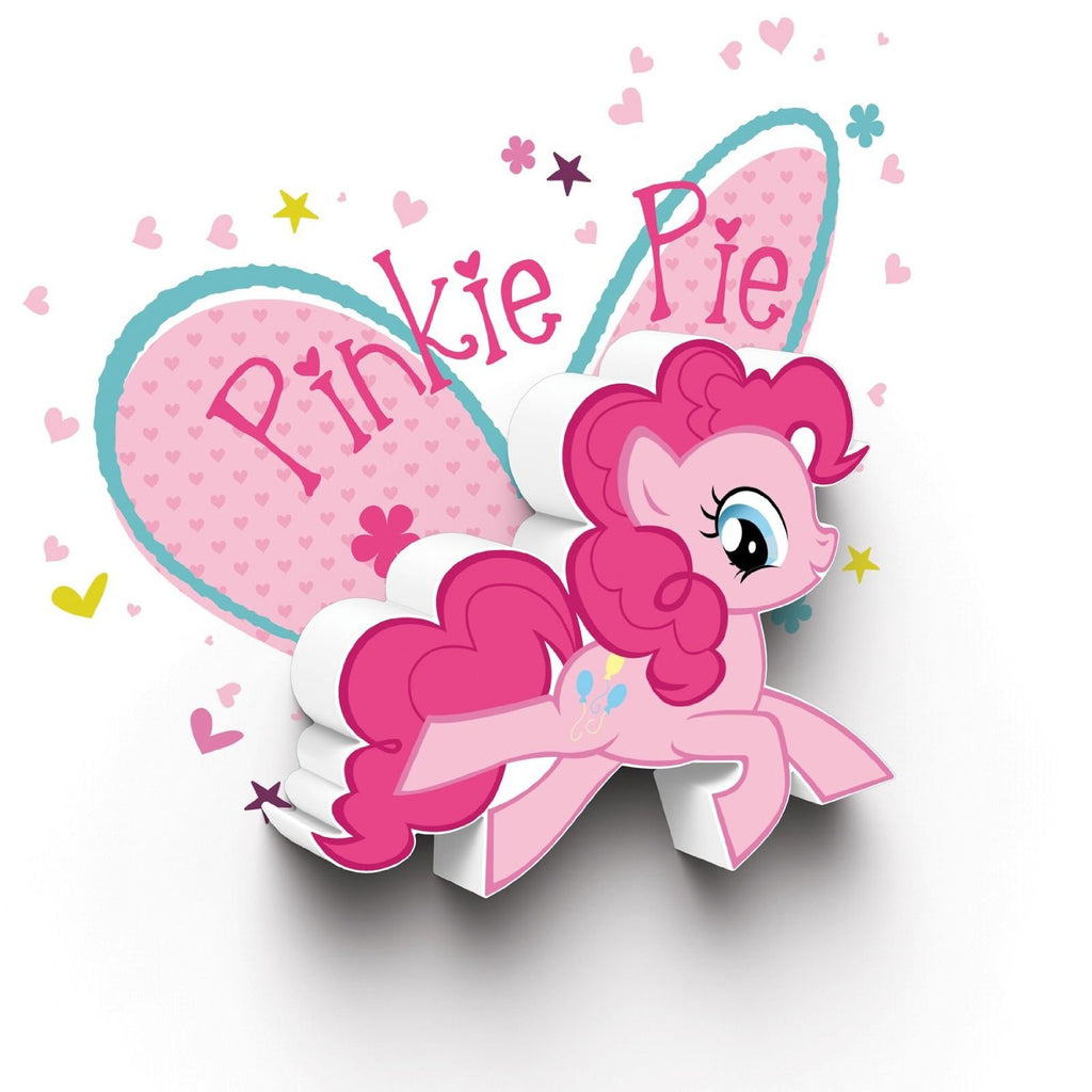 My Little Pony Mini 3D LED Wall Light - Pinkie Pie