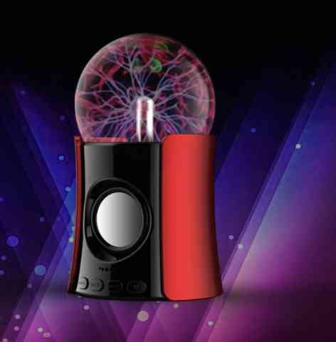 Plasma Ball Bluetooth Speaker