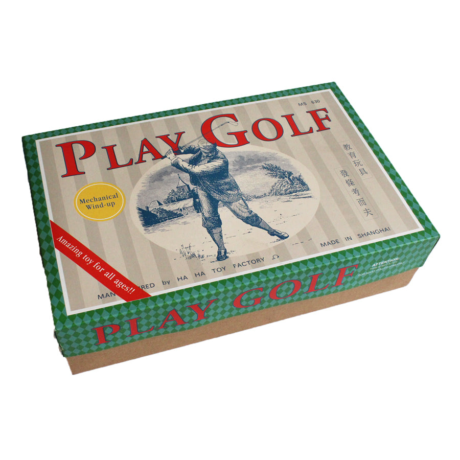 Retro Desk Mechanical Play Golf