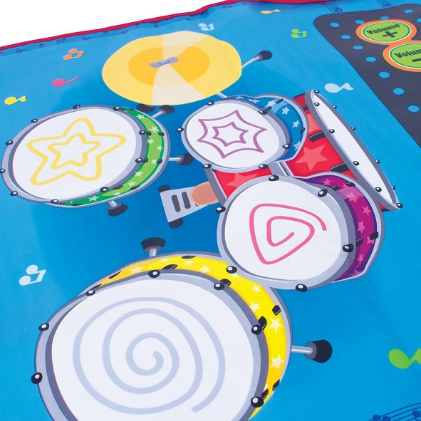 Musical Playmat Keyboard and Drum Kit