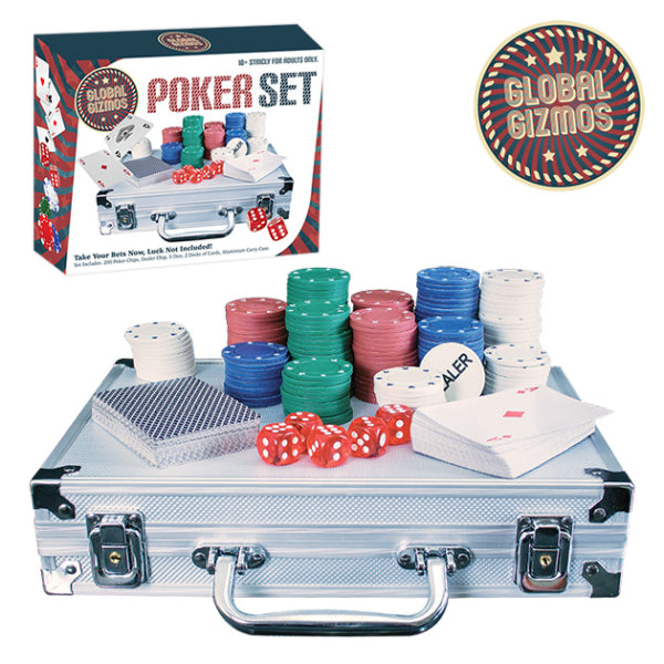 Poker Set With Aluminium Case