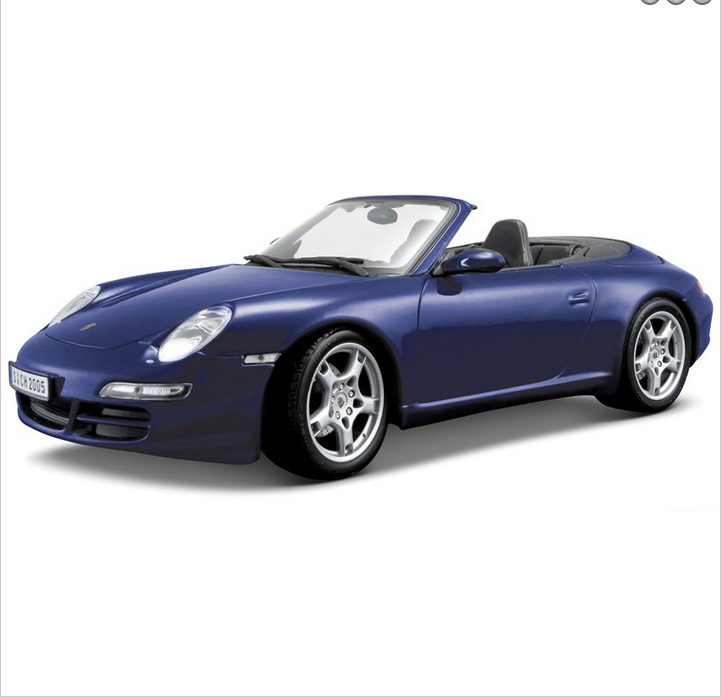 Porsche 911 Carrera S 1:18 Scale Die Cast Replica Model Car
