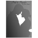 'Pride & Prejudice' Full Book Text Poster Print