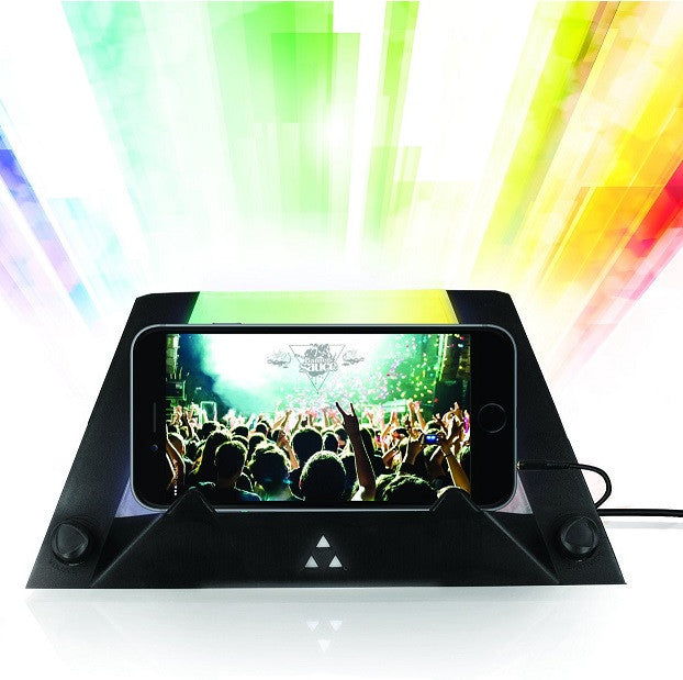 Prism LED Light Projection Speaker