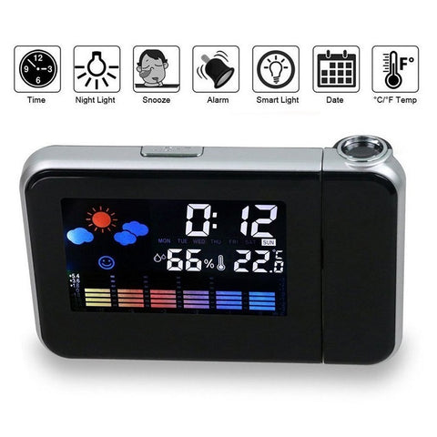 Time Projection Alarm Clock