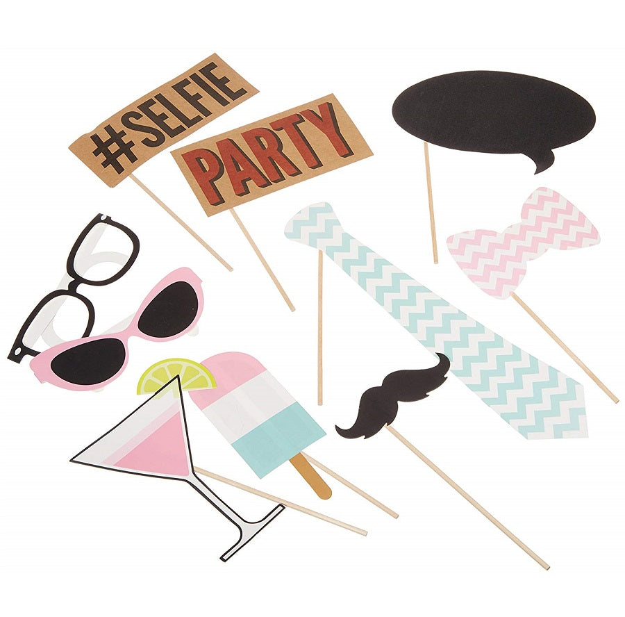 Chevron Party Photo Booth Kit
